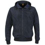 Antony Morato Men's Hood and Pocket Detail Coat - Dark Blue