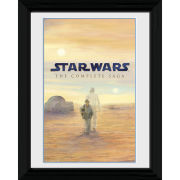 Star Wars Blu Ray Saga - 30 x 40cm Collector Prints