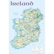 Ireland Map 2012 - Maxi Poster - 61 x 91.5cm