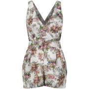 LOVE Women's Secret Garden Playsuit - Multi