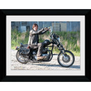 The Walking Dead Daryl Bike - 30 x 40cm Collector Print