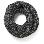 Impulse Women's Neon Knitted Snood - Black