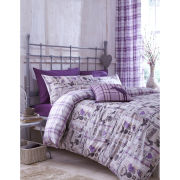 Catherine Lansfield Stag Collectables Bedding Set - Heather