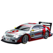 Race Tin: AMG Mercedes CLK DTM 1:28 Scale Remote Control Car - Silver