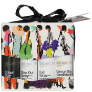 Label.M Get Creative Mini Kit (Colour Stay Shampoo 60ml, Colour Stay Conditioner 60ml, Blow Out Spray 50ml, Curl Spray 50ml)