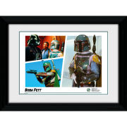 Star Wars Boba Fett Montage - 30 x 40cm Collector Prints