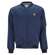 Jack & Jones Men's Slim Bomber Jacket - Dress Blue