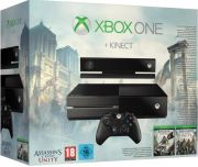 Xbox One Console 500GB With Kinect - Includes Assassins Creed Unity and Black Flag