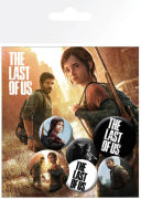 The Last of Us Ellie and Joel - Badge Pack