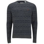 Farah 1920 Men's Copperfield Knit Jumper - Charcoal