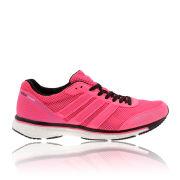 adidas Women's Adizero Adios Boost Trainers - Neon Pink/White