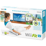 Wii Fit U + Balance Board (White) + Fit Meter (Green)