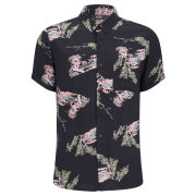NEUW Men's Print Shirt - Black