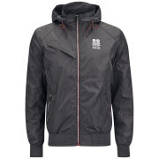 Crosshatch Men's Hollaz Jacket - Charcoal