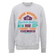 Joystick Junkies Sweatshirt High Score Junkie - Heather Grey