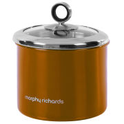 Morphy Richards Accents Small Storage Canister - Copper
