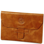 dbramante1928 Leather Kindle Envelope - Golden Tan