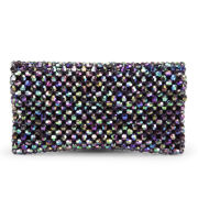 Kate Sheridan Alice Beaded Leather Clutch Bag - Multi