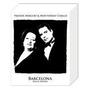 Queen Freddie & Montserrat Caballe - 50 x 40cm Canvas