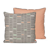 Cushion Boogie Woogie - Pink/Grey