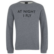 Uniforms for the Dedicated Men's Old Boy Round Neck Sweatshirt - Grey Melange