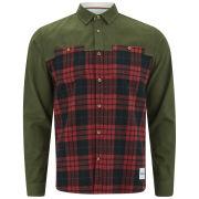 Supremebeing Men's Spitfire Shirt - Red Check