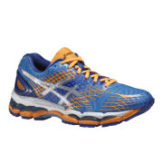 Asics Women's Gel Nimbus 17 Cushioning Running Shoes - Powder Blue/Silver/Nectarine