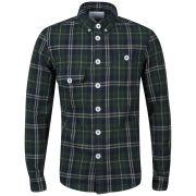 Humor Men's Milla Check Shirt - Green Multi