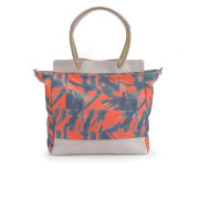 Kate Sheridan Biddy Printed Tote Bag - Orange
