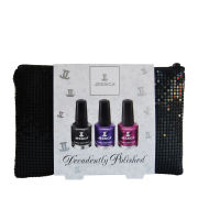 Jessica Nails Decadently Polished Black Pouch Trio