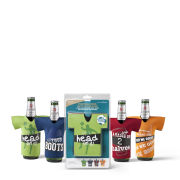 Beer Chillers Football Theme Set of 4