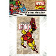 Marvel Iron Man - Vinyl Sticker - 10 x 15cm