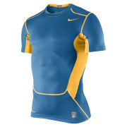 Nike Men's Hypercool Compression Short Sleeve Top 2.0 - Military Blue