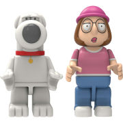 K'NEX Family Guy: Brian and Meg Buildable Figures (44041)
