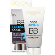 L'Oreal Paris Youth Code Luminize Code BB Cream SPF15 - Light (50ml)