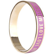 Love Moschino Women's Logo Bracelet - Purple