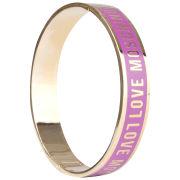 Love Moschino Women's Logo Bracelet - Purple