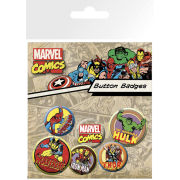 Marvel Characters - Badge Pack