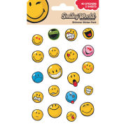 Smiley Expressions (Shimmer) - Shimmer Sticker Pack