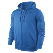 Nike Men's KO Full Zip Hoody 2.0 - Blue