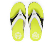 Animal Men's Fader Premium Flip Flops - Sulphur