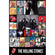 The Rolling Stones Discography - Maxi Poster - 61 x 91.5cm