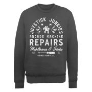 Joystick Junkies Sweatshirt - Repairs - Charcoal