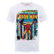 Marvel Iron Man Cover Men's T-Shirt - White