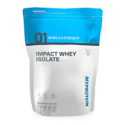 Impact Whey Isolate - Natural Banana - 1kg