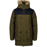 Bench Men's Oatfield Parka Coat - Olive