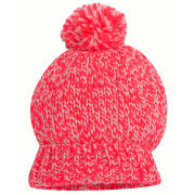 Codello Women's Winter Wonderland Knitted Melange Hat - Orange