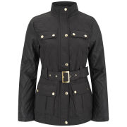Brave Soul Women's Oak Quilted Jacket - Black