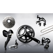 Shimano 105 5800 11 Speed Groupset - Silver - 53/39