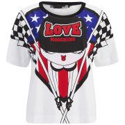 Love Moschino Women's Boxy T-Shirt - Multi